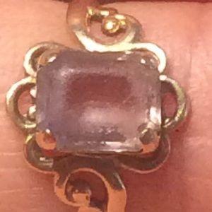 10k antique gold ring